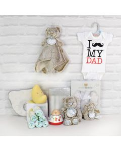 Deluxe Father's Love Gift Basket, baby gift baskets, baby gifts