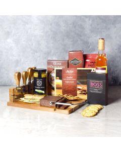 O Canada Wine & Cheese Basket
