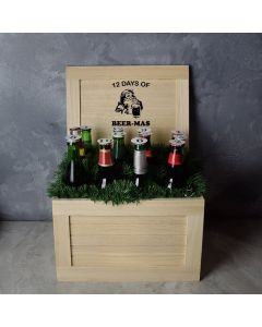 12 Days of Beer-Mas Gift Crate