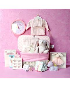 BABY GIRL BEDROOM & PLAYSET, baby girl gift hamper, newborns, new parents