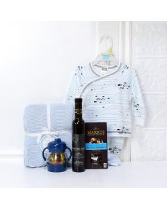 Mama's Angel Gift Set with Wine, baby gift baskets, baby gifts, gift baskets