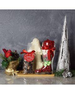 Santa's Sweet Boot Gift Basket