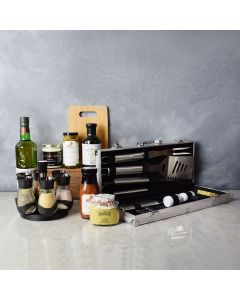 Zesty Barbeque Grill Gift Set with Liquor, gift baskets, gourmet gifts, gifts