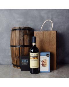 Chocolate & Wine Gourmet Gift Basket, wine gift baskets, gourmet gift baskets, gift baskets