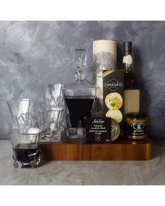 Whiskey Decanter Basket