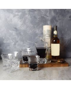 Spirits & Cigars Gift Basket