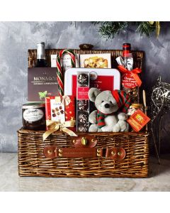 Bountiful Holiday Wine Basket