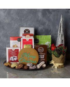 Christmas Cookie Gift Basket