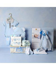BABY BOY ESSENTIALS GIFT SET, baby boy gift hamper, newborns, new parents