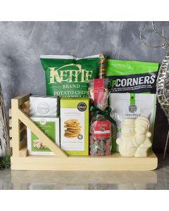 Holly Jolly Christmas Gift Basket