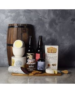 Cured Your Craving, Cheese & Craft Beer Basket