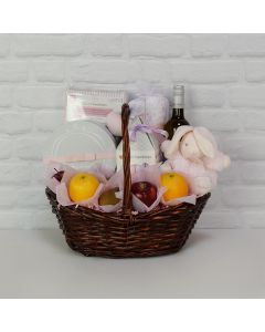 The Cutie Pie Gift Basket, Baby Girl Gift Basket Delivery Toronto