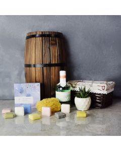 Floral Wonder Spa Gift Set, spa gift baskets, spa gifts, gift baskets, spa sets