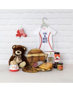 Cheese & Chocolate Baby Gift Set, baby gift baskets, baby gifts, gift baskets, newborn gifts