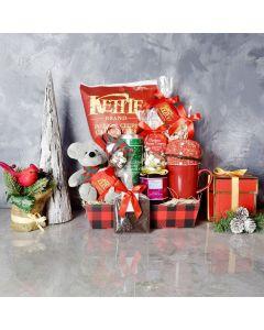 Christmas Cheer & Treats Basket