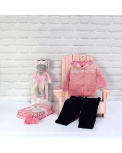 BABY GIRLS FIRST PAIR OF JEANS GIFT SET, baby gift hamper, newborns, new parents