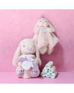 Girl's Baby Bunny Set