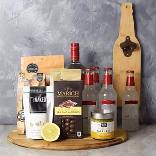 Coolers &  Crunch Liquor Basket Manchester