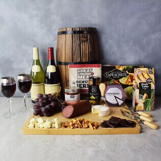 Grand Cheese& wine Gift Basket Connecticut