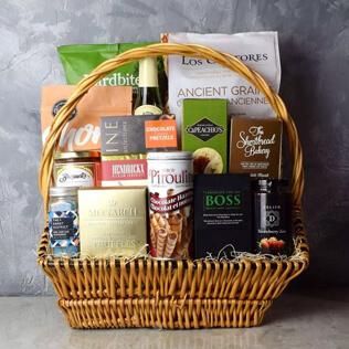 Markham Rustic Wine Gift Basket Connecticut