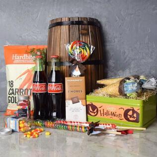 Gourmet Halloween Treats Basket Connecticut