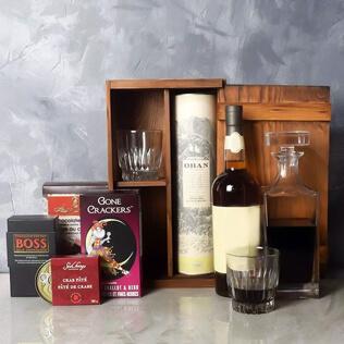 Executive Liquor & Decanter Basket Connecticut