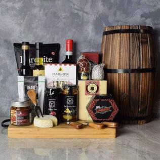 Rustic Italian Gourmet Gift Basket Connecticut