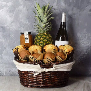 Tropical Muffin Gift Basket Connecticut