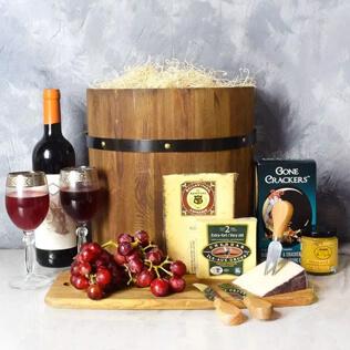 Wine & Cheese Barrel Connecticut