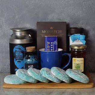 Kosher Coffee & Cookies Gift Basket Manchester