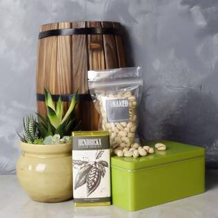 Snacks & Succulent Gift Set Connecticut