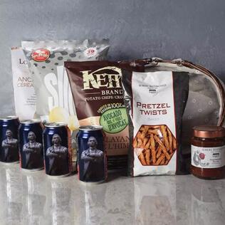 Kosher Beer & Snacks Basket Connecticut