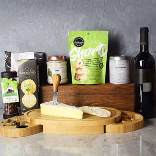 Kosher Wine & Cheese Party Crate Connecticut