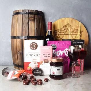 Kosher Raspberry Sweets & Treats Set Connecticut