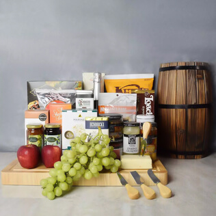 Ultimate Kosher Sweet & Salty Gift Set With Champagne Connecticut