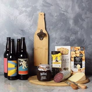 Beer & Cheese Lover's Basket Connecticut