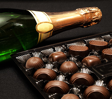 Champagne & Chocolate Gift Baskets Delivered to Connecticut